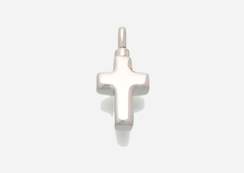 Small Cross Pendant - Sterling Silver Image