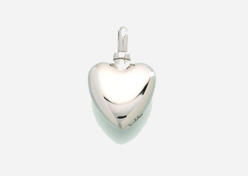 Small Heart Pendant - Sterling Silver Image