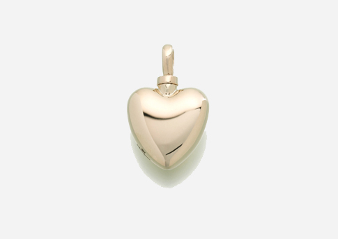 Small Heart Pendant - Gold Vermeil Image