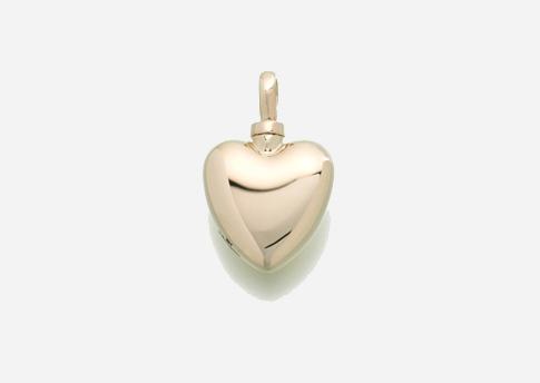 Small Heart Pendant - Gold Vermeil Image