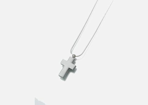 Cross Pendant - Brass Image