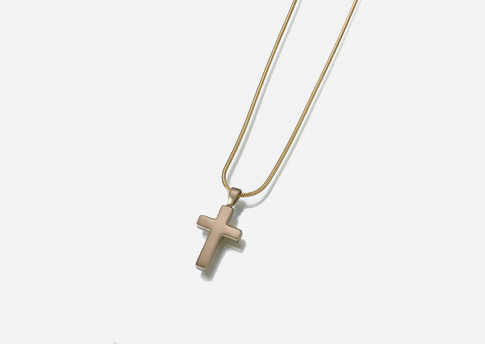 Cross Pendant - Pewter Image