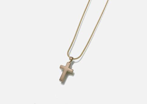 Cross Pendant - Pewter Image