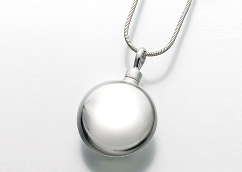 Large Round Pendant - Sterling Silver Image