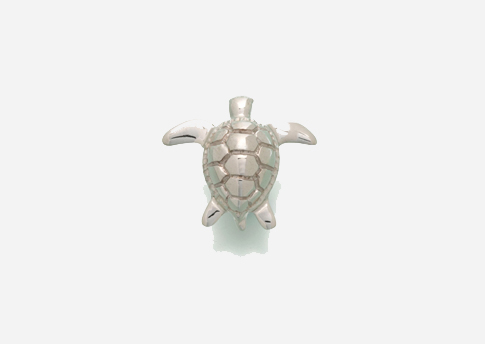 Sea Turtle Pendant - Sterling Silver Image