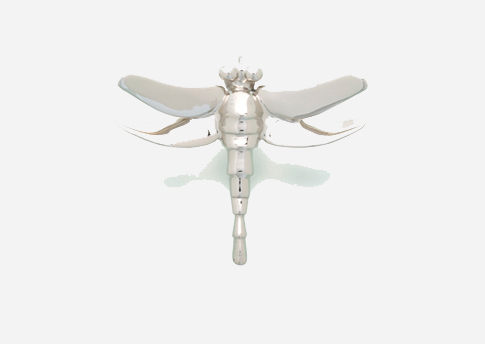Dragonfly Pendant - Sterling Silver Image