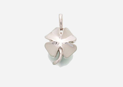 4 Leaf Clover Pendant - Sterling Silver Image