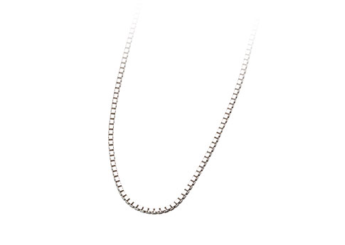 24 Inch Box Chain - Sterling Silver Image
