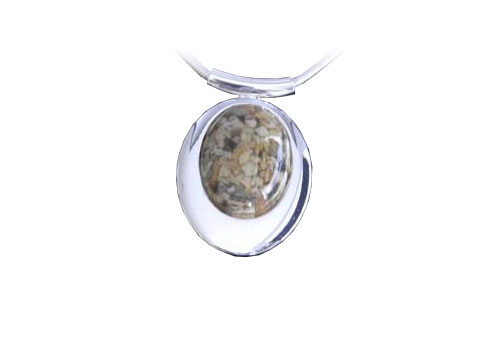 Deluxe Pendant (Cremains) Image
