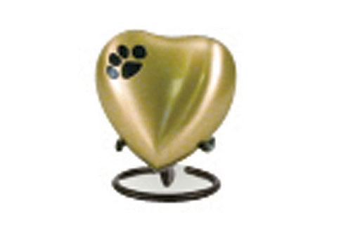 Classic Bronze Keepsake Heart Image