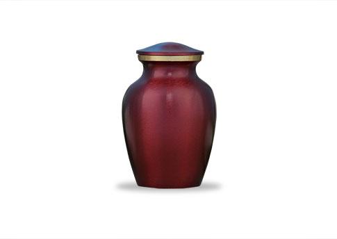 Classic Pet Urn - Crimson Image