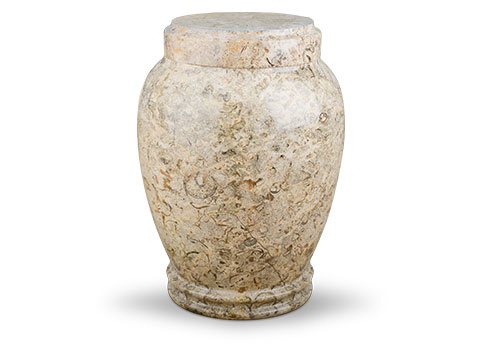 Legacy Marble Urn - Tan Image