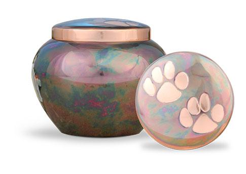 Raku/Copper Odyssey Urn Image