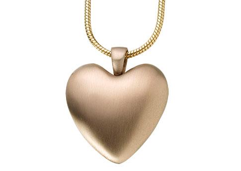 Heart Pendant - Bronze Image