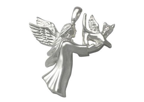 Angel Cat Pendant Image