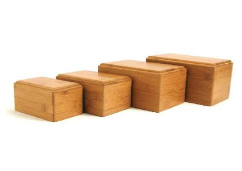 Bamboo Box Urn Image