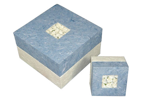 Bio Urn Embrace - Blue Image