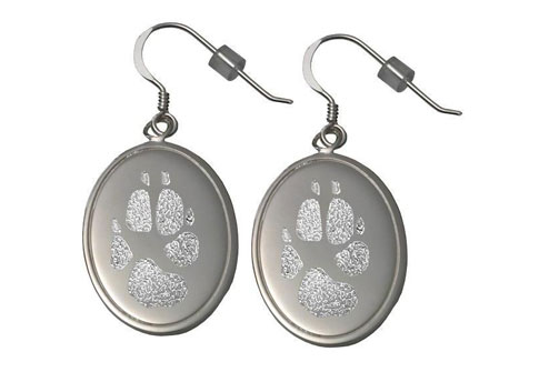 Paw Print Earrings Image