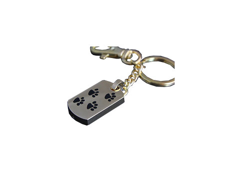 Paw Print Key Ring Image