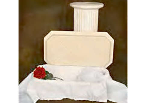 Pet Angel Casket Image