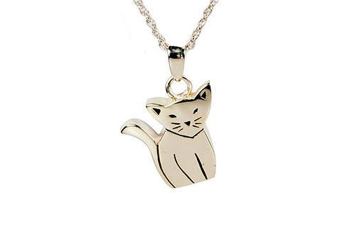 Sitting Cat Pendant Image