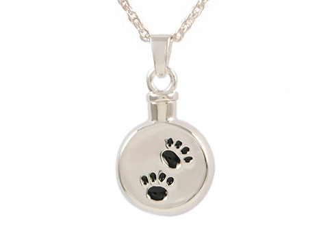 Silver Signet and Paw Keepsake Image