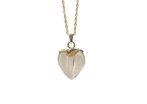 Crystal Heart Pendant Image